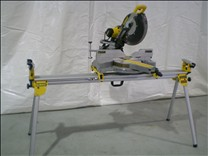 misc miter saw + stand